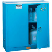 Acid Corrosive Cabinet With Manual Close Double Door 30 Gallon