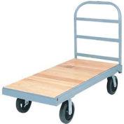 Akro-Mils® Steel Bound Wood Deck Truck 48 x 24 2700 Lb. Capacity R219885MRB2448