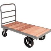 Akro-Mils® Steel Bound Wood Deck Truck 72 x 36 3200 Lb. Capacity R2278510MRB3672