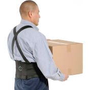 "Ergodyne® ProFlex® 1650 Economy Back Support with Suspenders, XL, 38-42"" Waist Size"