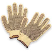 Honeywell Perfect Fit® Heavy Weight Double-Sided PVC Dots Kevlar® Gloves, Mens'