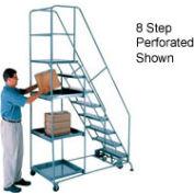6 Step Steel Stock Picking Ladder - Grip Strut Tread