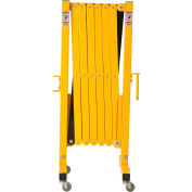Steel Portable Barricade Gate With Casters