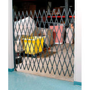 Single Folding Security Gate 5-1/2'W x 6-1/2'H