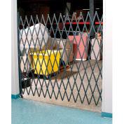 Single Folding Security Gate 5-1/2'W x 6-1/2'H