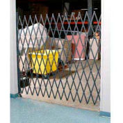 Single Folding Security Gate 7-1/2'W x 8'H