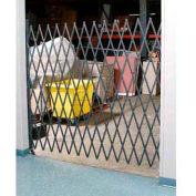 Single Folding Security Gate 7-1/2'W x 8'H
