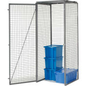 Bulk Storage Locker Single Tier 3' X 3' Starter Without Roof