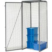 Bulk Storage Locker Single Tier 4' X 3' Starter With Roof
