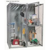 Bulk Storage Locker Single Tier 3' X 3' Add-On Without Roof