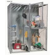 Bulk Storage Locker Single Tier 3' X 3' Add-On With Roof