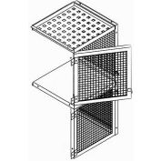 Bulk Storage Locker Double Tier 3' X 4' Add-On With Roof