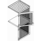 Bulk Storage Locker Double Tier 4' X 3' Add-On With Roof