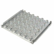 """Omni Metalcraft Ball Transfer Table with 3"""" Centers 2240 Lb. Capacity BTRD3.5-24-3-4-.25"""