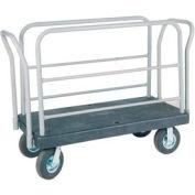 Akro-Mils® VERSA/Deck™ Plastic Platform Truck Style E 1600 Lb. Cap. R90110L24112817