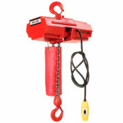 Coffing® Electric Chain Hoist with Chain Container 300 Lb. Capacity