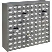 Steel Drawer Cabinet - 100 Drawers 36x9x34-1/2