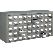"""Global™ Steel Drawer Cabinet - 50 Drawers 36""""W x 9""""D x 17-3/4""""H"""