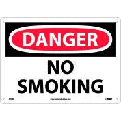 "Safety Signs - Danger No Smoking - Rigid Plastic 10""H X 14""W"