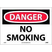 "Safety Signs - Danger No Smoking - Vinyl 10""H X 14""W"