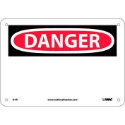 "Safety Signs - Danger - Rigid Plastic 7""H X 10""W"