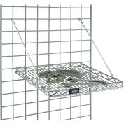 Chrome Wire Shelf 16 3/4 X 16 3/4