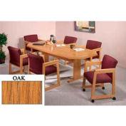 8-Sided 46x120 Table Oak Finish