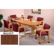 8-Sided 46x120 Table Walnut Finish
