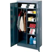 "Edsal Combination Cabinet - 36x24x78"" - Gray"