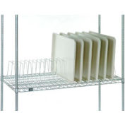 """Tray Drying Rack 12""""L x24""""D x 8-1/2""""H Poly-Z-Brite"""