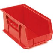 "Akro-Mils AkroBin® Plastic Stacking Bin 30240 - 8-1/4""W x 14-3/4""D x 7""H, Red - Pkg Qty 12"