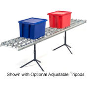 Omni Metalcraft Steel Skate Wheel Conveyor Straight Section WSHS3-18-18-5-LL