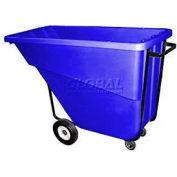 Bayhead Products Blue Medium Duty 5/8 Cubic Yard Tilt Truck 1000 Lb. Capacity
