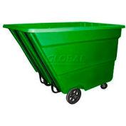 Bayhead Products Green Medium Duty 2.2 Cubic Yard Tilt Truck 2200 Lb. Capacity