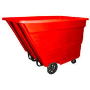 Bayhead Products Red Medium Duty 2.2 Cubic Yard Tilt Truck 2200 Lb. Capacity