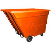 Bayhead Products Orange Medium Duty 2.2 Cubic Yard Tilt Truck 2200 Lb. Capacity