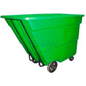 Bayhead Products Green Medium Duty 1.7 Cubic Yard Tilt Truck 1700 Lb. Capacity
