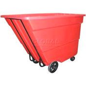 Bayhead Products Red Medium Duty 1.7 Cubic Yard Tilt Truck 1700 Lb. Capacity