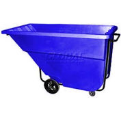 Bayhead Products Blue Medium Duty 1.1 Cubic Yard Tilt Truck 1200 Lb. Capacity