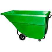 Bayhead Products Green Medium Duty 1.1 Cubic Yard Tilt Truck 1200 Lb. Capacity