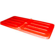 Red Lid for Bayhead Products 1.1 Cubic Yard Tilt Truck