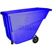 Bayhead Products Blue Light Duty 5/8 Cubic Yard Tilt Truck 300 Lb. Capacity