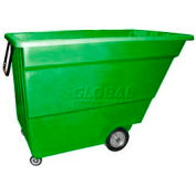 Bayhead Products Green Light Duty 1.7 Cubic Yard Tilt Truck 1000 Lb. Capacity
