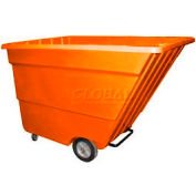 Bayhead Products Orange Light Duty 2.2 Cubic Yard Tilt Truck 1200 Lb. Capacity