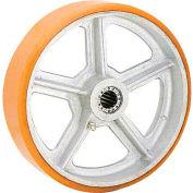 """8"""" x 2"""" Polyurethane Wheel - Axle Size 1/2"""""""