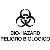Bilingual Label-Bio-Hazard / Peligro Biologico