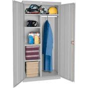 Sandusky Classic Series Combination Storage Cabinet CAC1361872 - 36x18x72, Gray