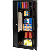 Tennsco Industrial Combination Storage Cabinet 7820-BLK - 36x24x78 Black