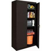 Sandusky Classic Series Storage Cabinet CA41362472 - 36x24x72, Black