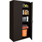 Sandusky Elite Series Storage Cabinet EA42462472 - 46x24x72, Black